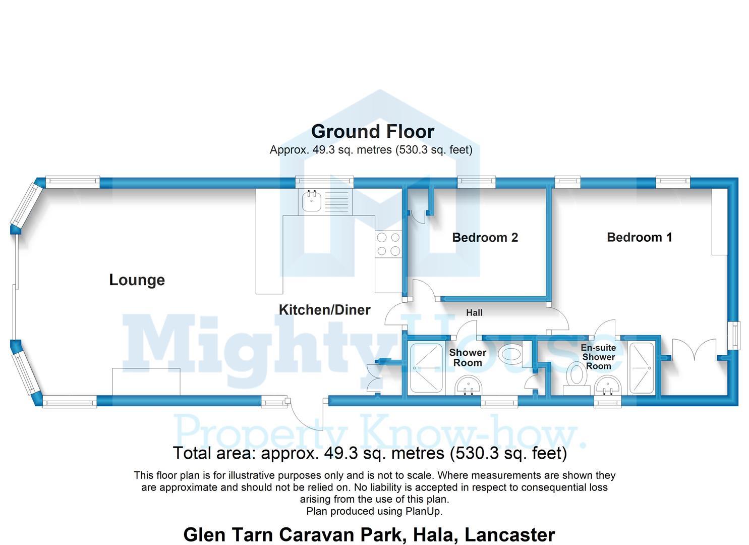 Glen Tarn Caravan Park, Hala, Lancaster - 2D.JPG